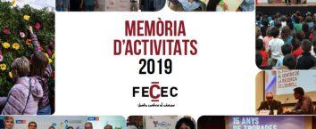 Ja tenim a disposició la Memòria d'Activitats de la FECEC de 2019