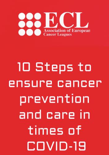 La ECL fa una crida a la UE per garantir la prevenció i la cura del càncer en temps de la COVID-19