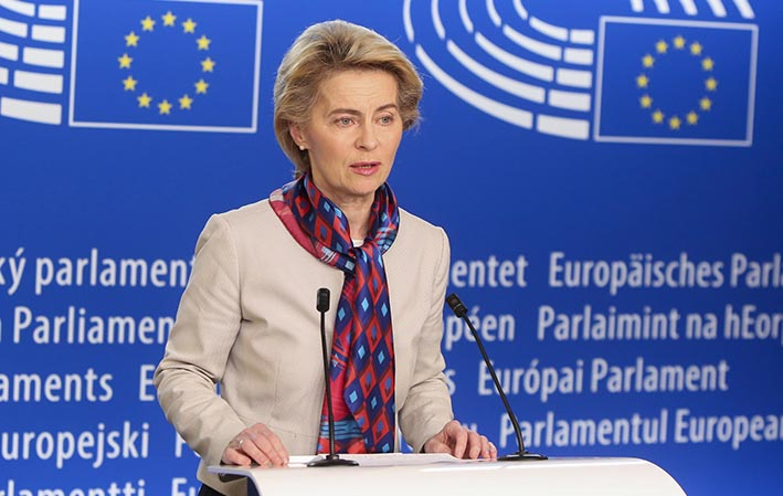Press point by Ursula VON DER LEYEN, President of the European Commission